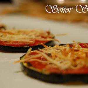 Zucchini Crust Mini Pizzas
