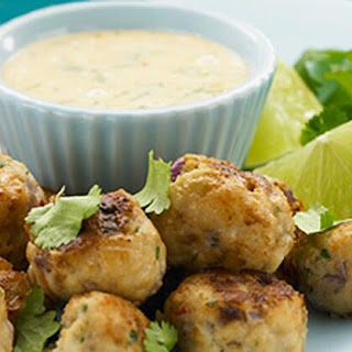 Thai Fish Balls with Chilli and Lime Mayonnaise