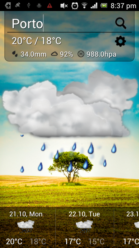 Cute Weather- screenshot