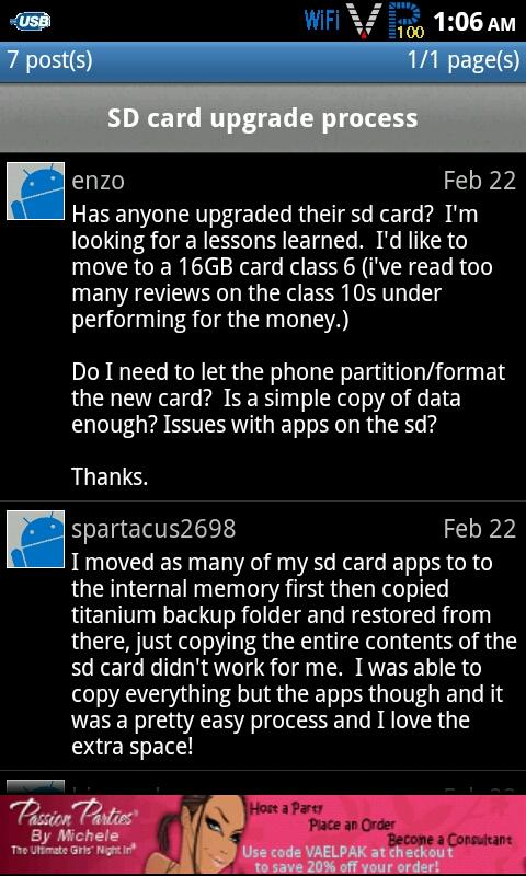 Androplasty Forums - screenshot