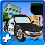 Cartoon City Police Parking 3D