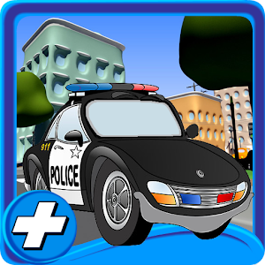 Cartoon City Police Parking 3D for PC and MAC