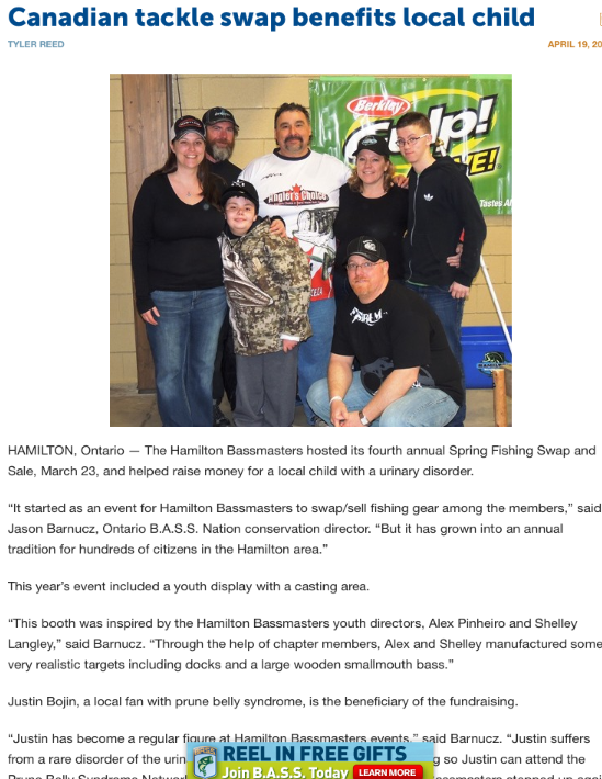 Bassmaster News- screenshot