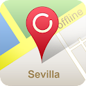 Sevilla Offline Map (GPS) icon