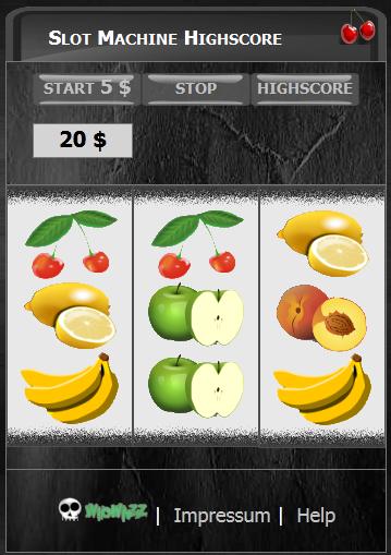 Slot Machine Highscore MAX