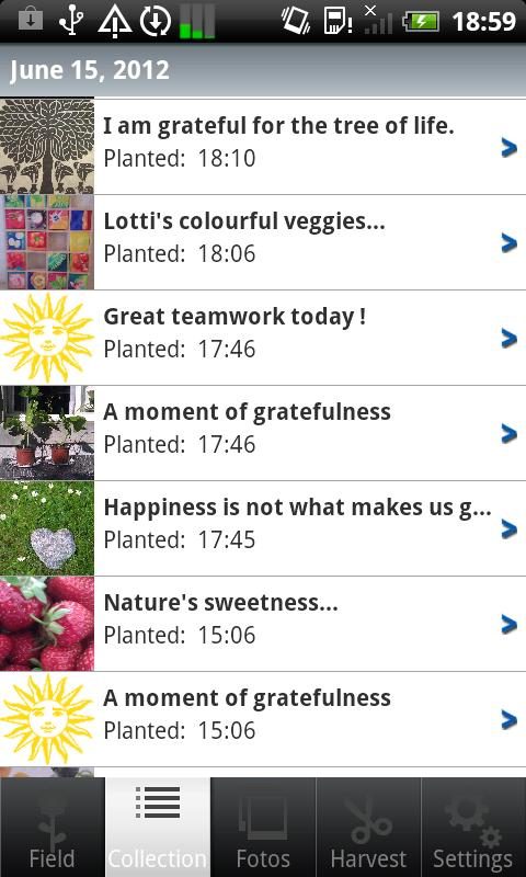 Grateful- screenshot