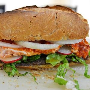 Tortas del Santuario/ Pork Loin Sandwiches
