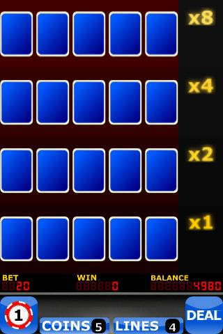 Upgrade Video Poker FREE- screenshot