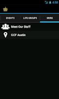 Screenshot of GCF Austin