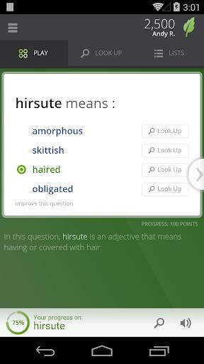 Vocabulary.com screenshot