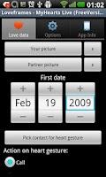 Screenshot of Loveframes - The Love WallpApp