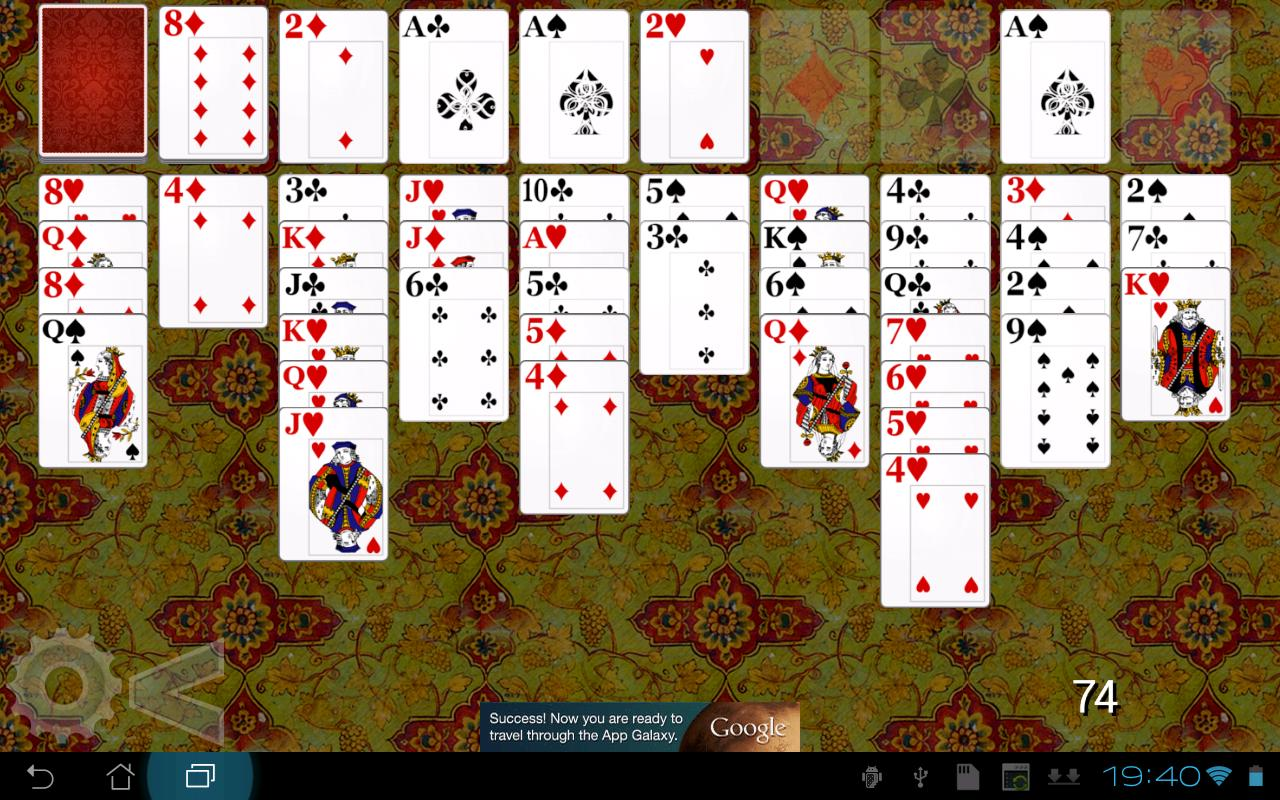 Forty Thieves Solitaire HD- screenshot