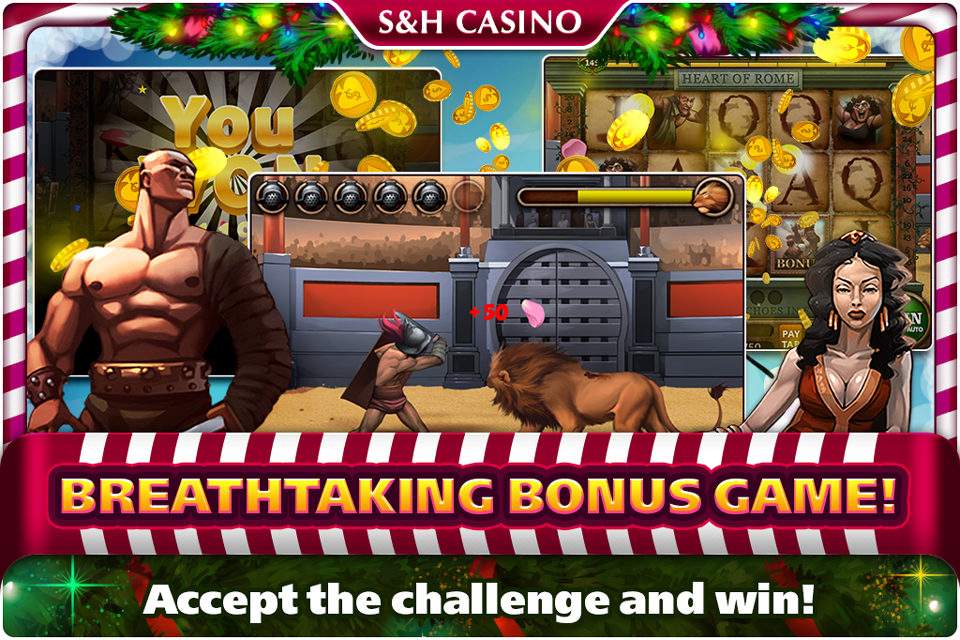 S&H Casino-Free Premium Slots- screenshot