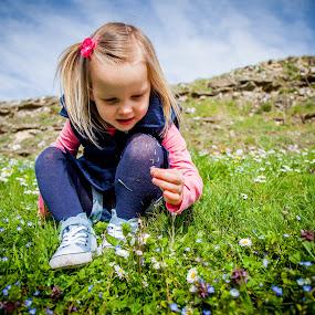wild flowers by Sheena True - Babies & Children Children Candids