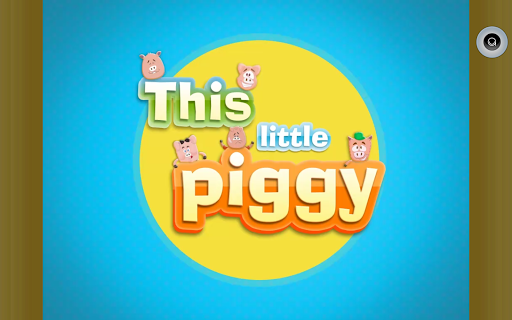 Little Piggy: Baby Story Book