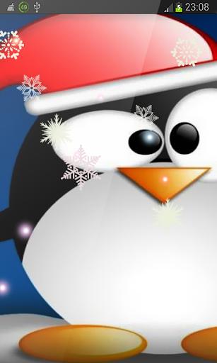Crazy Penguin Christmas HD LWP