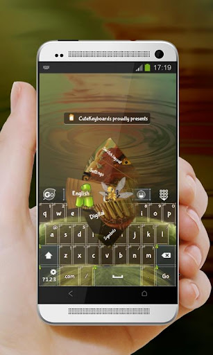 植物大戰昆蟲 GO Keyboard