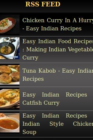 Easy Indan Recipes
