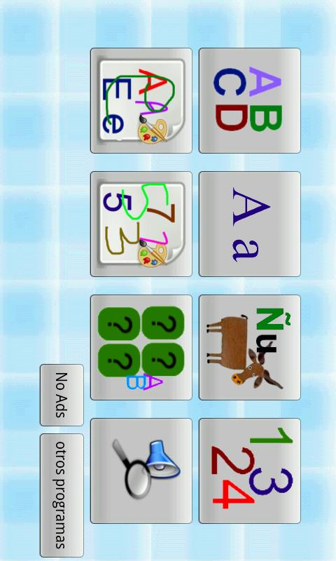 Spanish Alphabet - screenshot