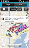Screenshot of Audio guía oficial de Málaga