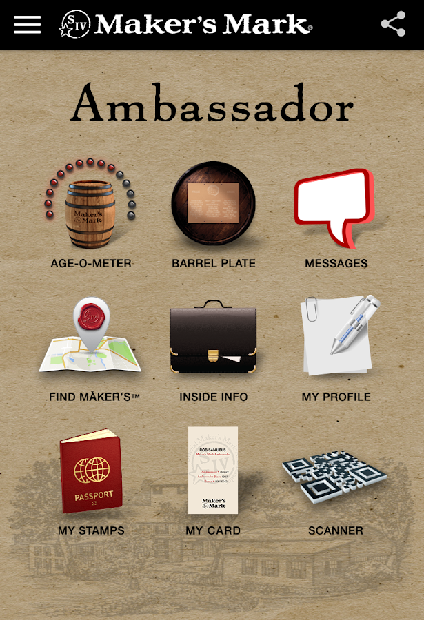 Maker's Mark® Ambassador - screenshot