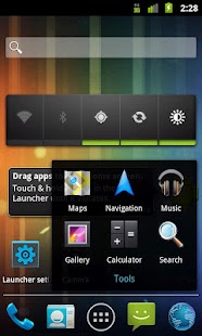 Holo Launcher- screenshot thumbnail