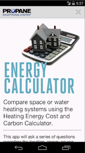 Energy and Carbon Calculator - screenshot thumbnail