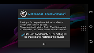 Motion Shot-Effect [Animation] screenshot for Android