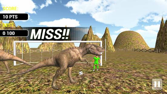 Jungle Dinosaurs Football