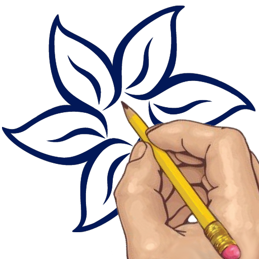 Flower Drawing App: How To Draw: Tattoo Flowers (2.40 Mb)
