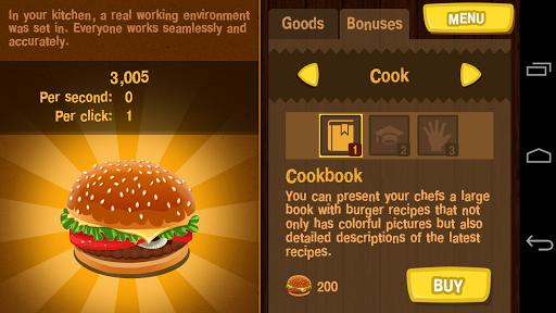 Burger Clicker 1.1.2 screenshots 3