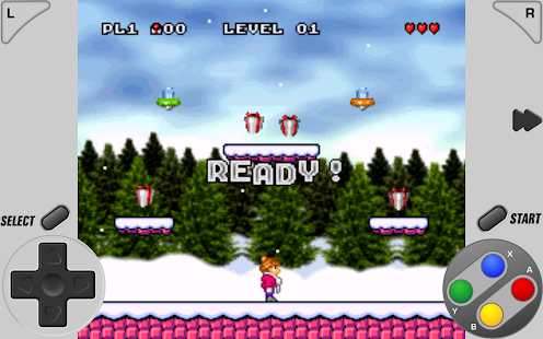 SuperRetro16 ( SNES Emulator ) Screenshot