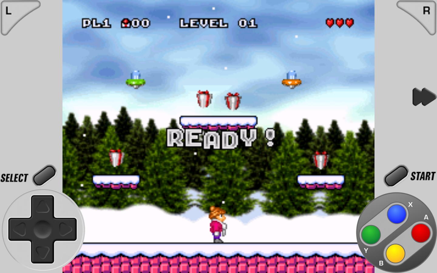 SuperRetro16 ( SNES Emulator )- screenshot