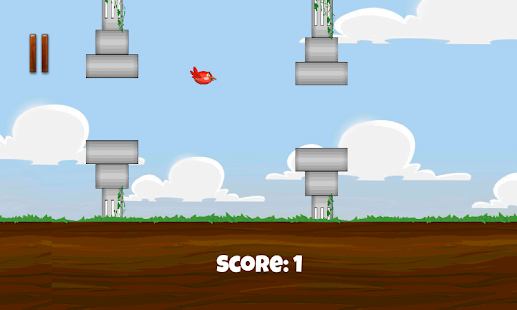 Flying Cute Bird screenshot