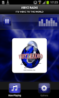 Screenshot of Vibyz Radio