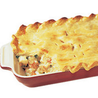 Chicken and Vegetable Pot Pie.