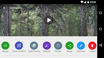 Screenshot of VidTrim Pro - Video Editor