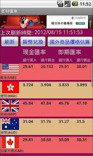 歡迎光臨國泰世華銀行-個人金融服務-即時匯率