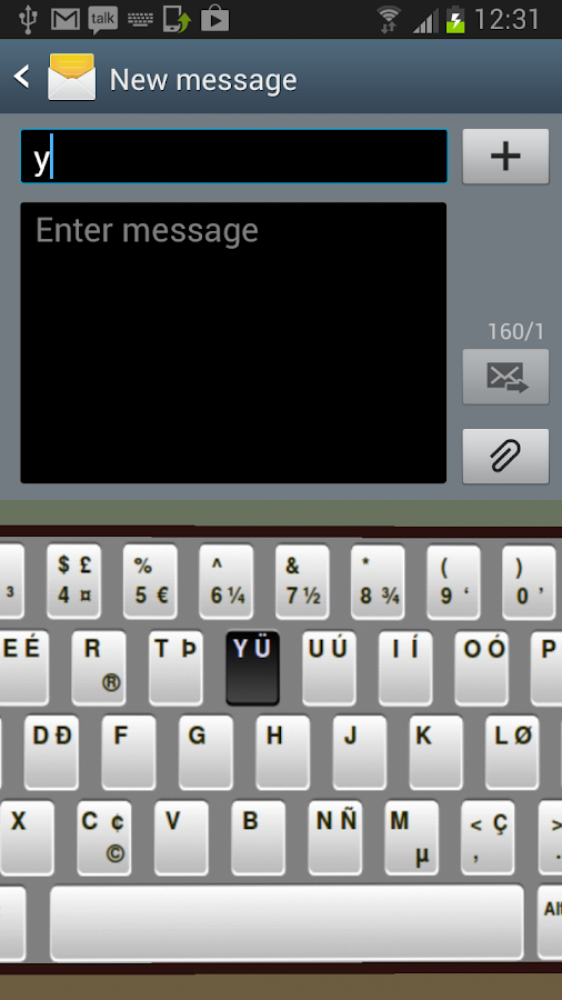 MaxiKeys keyboard - screenshot
