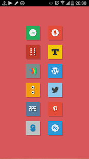 Naxos Flat Icon Pack ADW Nova - screenshot thumbnail