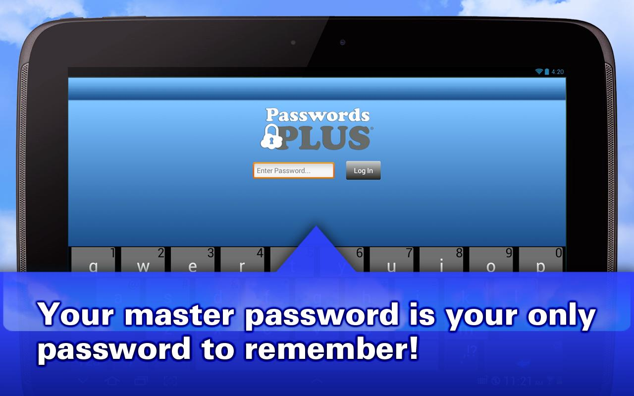Passwords Plus - Safe Storage - screenshot