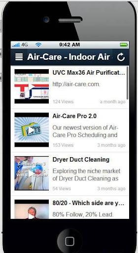 Air-Care Contractors App