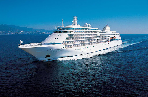 Silver Shadow is the next generation of Silversea's award-winning cruise liners, built slightly larger than its predecessors.