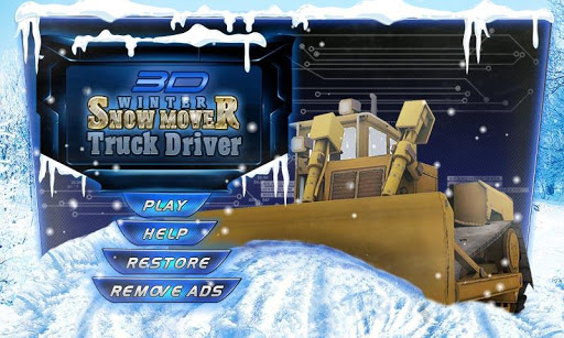 Snow Mover Truck Simulator 3D