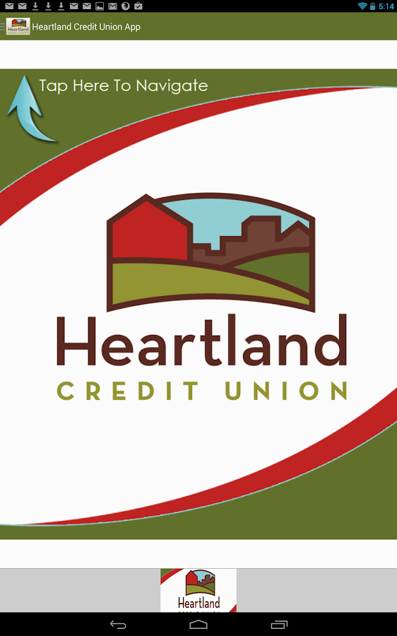 Heartland Credit Union App - screenshot
