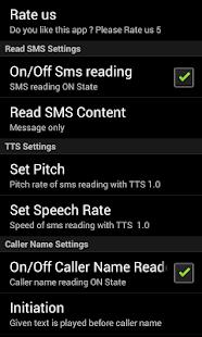 Call cum Sms Reader - screenshot thumbnail