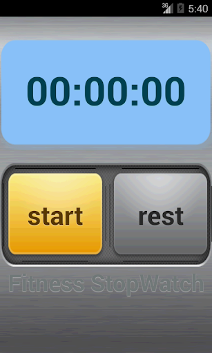 Fitness Stop Watch