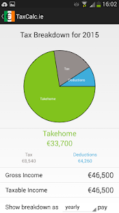 TaxCalc.ie A PAYE Calculator- screenshot thumbnail