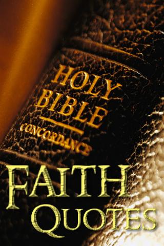 Bible Faith Quotes