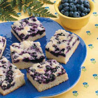 Blueberry Snack Cake.